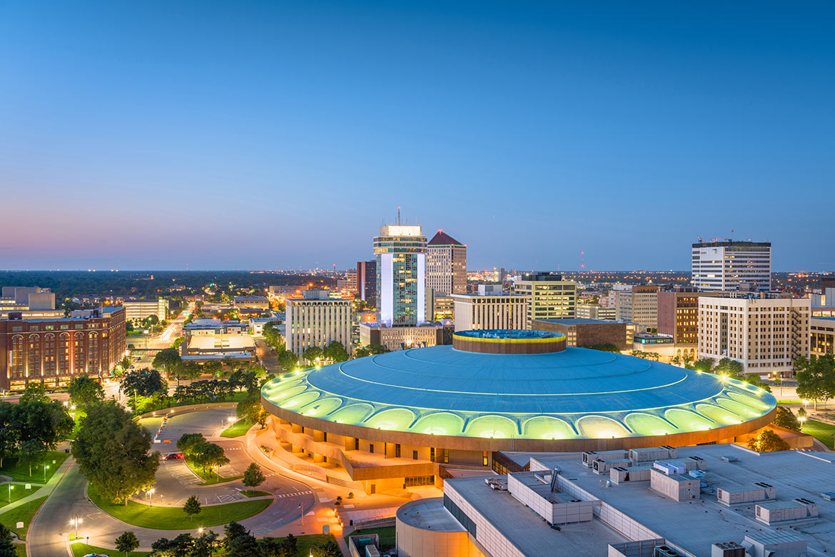 Wichita, Kansas skyline